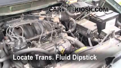Transmission Fluid Level Check Nissan Quest 1999 2002