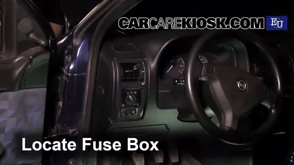 Fuse Interior Part on 2001 Chrysler Voyager Fuse Box Location