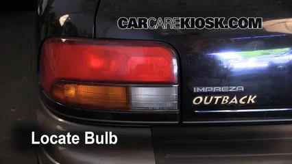 Subaru Outback Oil Type >> Brake Light Change 1993-2001 Subaru Impreza - 1999 Subaru