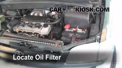 Oil Filter Change Toyota Sienna 1998 2003 1999