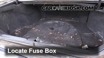Fuse Interior Part 1 interior fuse box location 1998 2004 cadillac seville 2001,Cadillac Deville Fuse Box Location