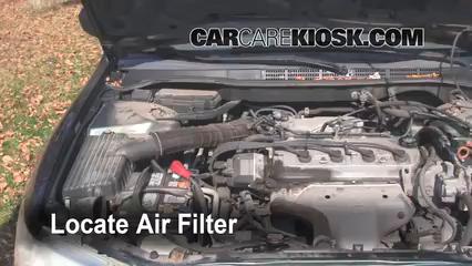 Air Filter HowTo 19982002 Honda Accord  1999 Honda Accord LX