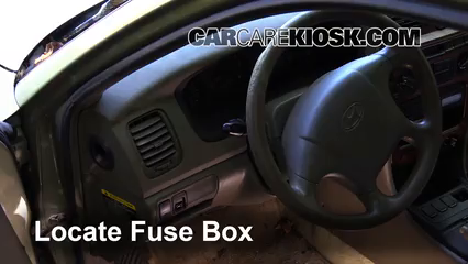 Fuse Interior Part on 2000 Hyundai Sonata Fuse Box Diagram