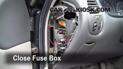 Interior Fuse Box Location: 1999-2004 Oldsmobile Alero ...