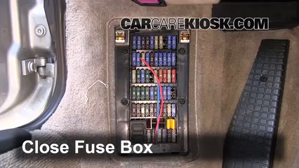 interior fuse box location 1998 2005 porsche 911 2000 porsche 911 4 3 4l 6 cyl