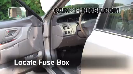 Interior Fuse Box Location 2000 2004 Toyota Avalon 2003