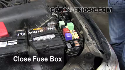 blown fuse check 1997 2001 toyota camry 2000 toyota camry ce 2 2 6 replace cover secure the cover and test component