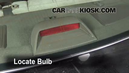 Third Brake Light Bulb Change Toyota Camry 1997 2001