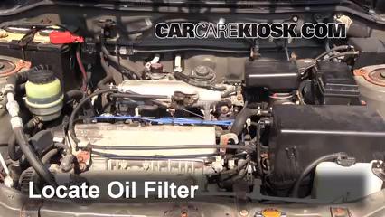 Oil Filter Change Toyota Rav4 1996 2000 2000 Toyota