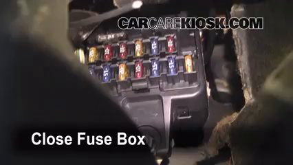 Interior Fuse Box Location 2000 2004 Volvo V40 2000