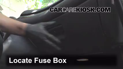 interior fuse box location 1999 2006 bmw 328i 1999 bmw 328i 2 8 locate interior fuse box and remove cover