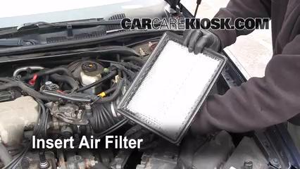 2000 2005 chevrolet impala engine air filter check 2001