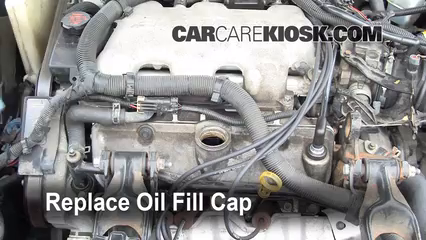 oil  u0026 filter change chevrolet impala  2000 2005  2001