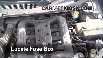 replace a fuse 1999 2001 chrysler lhs 2001 chrysler lhs 3 5l v6