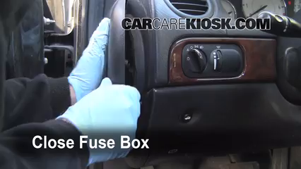 interior fuse box location 2001 2010 chrysler pt cruiser 2001 interior fuse box location 2001 2010 chrysler pt cruiser 2001 chrysler pt cruiser limited 2 4l 4 cyl
