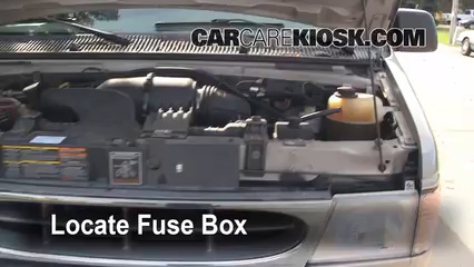 replace a fuse ford e econoline club wagon  replace a fuse 1990 2007 ford e 150 econoline club wagon 2001 ford e 150 econoline club wagon xlt 5 4l v8