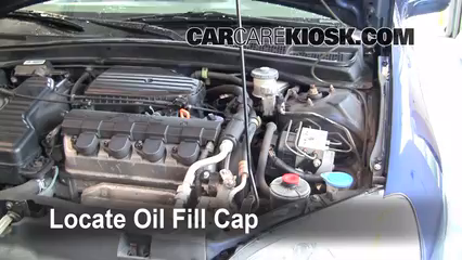 oil filter change honda civic 2001 2005 2001 honda. Black Bedroom Furniture Sets. Home Design Ideas