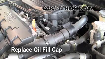 Oil Filter Change Honda Civic 2001 2005 2001 Honda