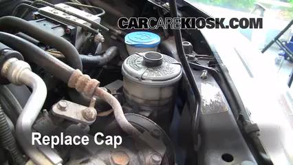 Power Steering Part on 2001 Honda Odyssey Fuel Filter
