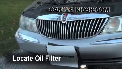 Oil Amp Filter Change Lincoln Continental 1995 2002 2001