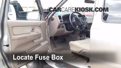 Interior Fuse Box Location 1998 2004 Nissan Frontier
