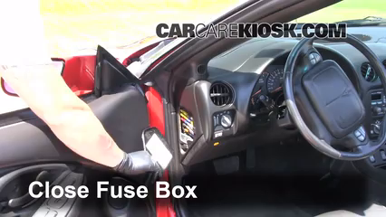 pontiac firebird fuse box diagram 1993-2002 pontiac firebird interior fuse check - 2001 ... firebird fuse box location