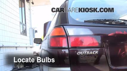 Custom Subaru Outback >> Tail Light Change 2000-2004 Subaru Outback - 2001 Subaru ...