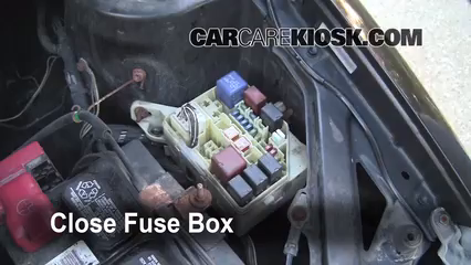 replace a fuse 2000 2005 toyota echo 2001 toyota echo 1 5l 4 6 replace cover secure the cover and test component