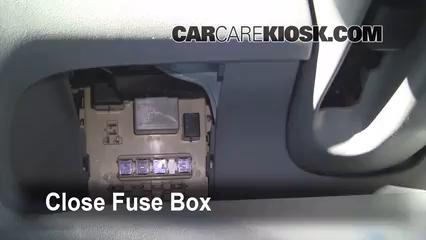 Interior fuse box location 2000 2005 toyota echo 2001 for 2000 toyota corolla power window problem