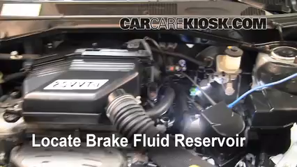 Toyota Rav L Cyl Fbrake Fluid Part on Properly Check Oil And Transmission Fluid In Your Car
