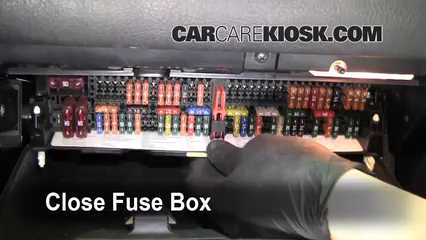 Interior Fuse Box Location 1999 2006 Bmw 325i 2002 Bmw