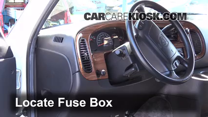 interior fuse box location dodge ram van  interior fuse box location 1994 2003 dodge ram 1500 van 2002 dodge ram 1500 van 3 9l v6 standard cargo van