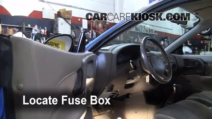 Fuse Interior Part on Ford Zx2 1999 With Electrical