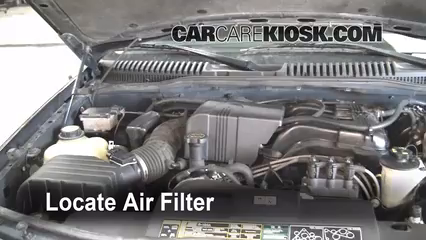Air filter how to 2002 2005 ford explorer 2002 ford for 2002 ford explorer cabin air filter location