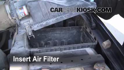 1999 2007 ford f 250 super duty engine air filter check. Black Bedroom Furniture Sets. Home Design Ideas