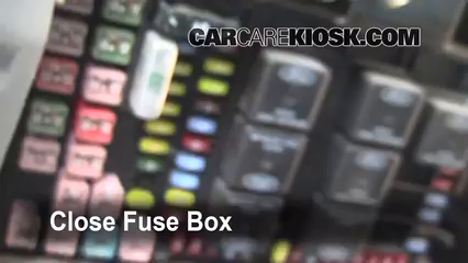 Replace on 2009 ford f 150 fuse box diagram