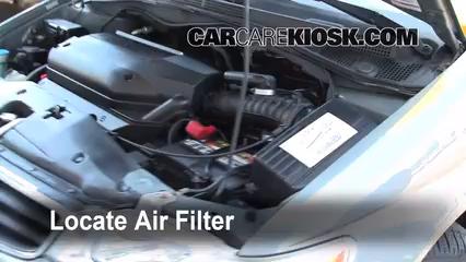 2004 honda odyssey fuel filter location 1999-2004 honda odyssey engine air filter check - 2002 ...