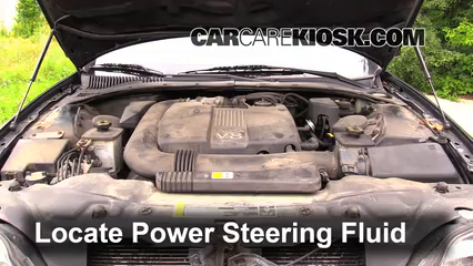 Power Steering Leak Fix 20002002 Lincoln LS 2002 Lincoln LS – Lincoln Ls 2002 Engine Diagram Power Steering Unit On 3 0