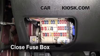 2000 2003 Nissan Maxima Interior Fuse Check 2002 Nissan