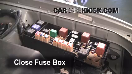 replace a fuse 1999 2003 lexus rx300 2002 lexus rx300 3 0l v6 2002 Lexus Rx300 Fuse Box Location 6 replace cover secure the cover and test component 2002 lexus rx300 fuse box location