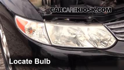 how to change headlight bulb toyota hiace