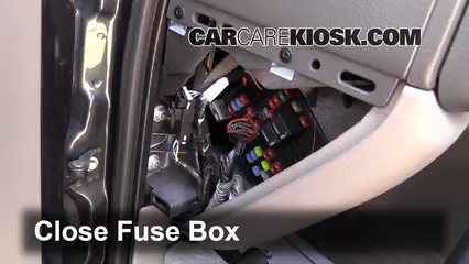 interior fuse box location chevrolet tahoe  interior fuse box location 2000 2006 chevrolet tahoe 2005 chevrolet tahoe z71 5 3l v8