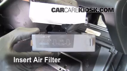 Cabin Filter Replacement: Honda Civic 2001-2005 - 2003 ...