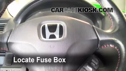 interior fuse box location 2001 2005 honda civic 2004 honda interior fuse box location 2001 2005 honda civic 2004 honda civic lx 1 7l 4 cyl sedan 4 door