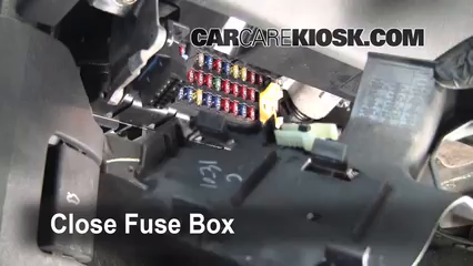 2008 Jeep  pass Interior Fuse Box Location on fuse box for jeep liberty