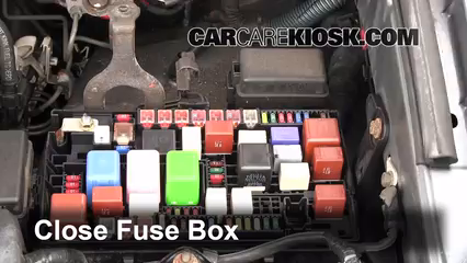 blown fuse check 2003 2009 lexus gx470 2003 lexus gx470 4 7l v8 6 replace cover secure the cover and test component