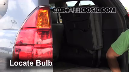 brake light change 2003 2009 lexus gx470 2006 lexus. Black Bedroom Furniture Sets. Home Design Ideas