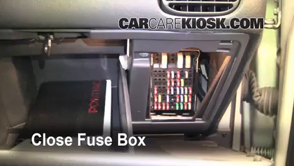 Interior Fuse Box Location: 1997-2003 Pontiac Grand Prix - 2003 ...