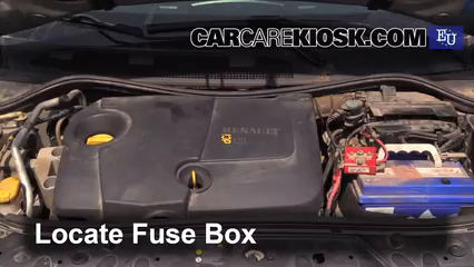 replace a fuse: 2002-2008 renault megane - 2003 renault ... renault megane fuse box repair renault megane fuse box problems