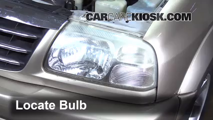 2003 Suzuki Grand Vitara Gear Shift Light Bulb